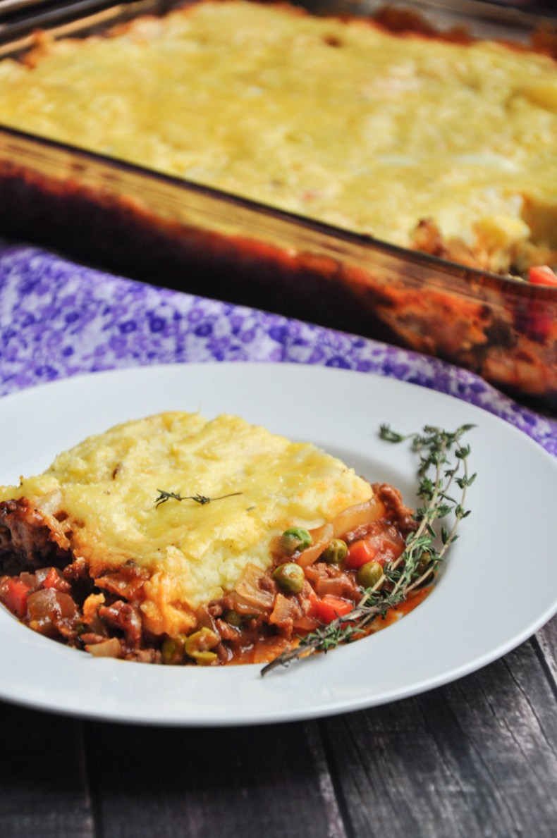 A delicious, healthy, and classic Shepherd's Pie recipe made with beef. It will become a staple in your house if you give it a try!