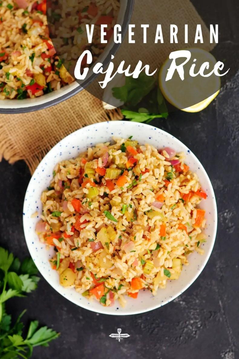 Vegetarian Cajun Rice (Meatless Dirty Rice) by StreetSmart Kitchen