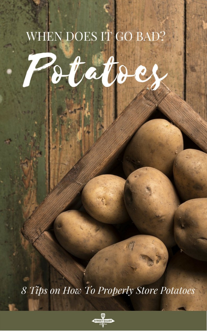 When do potatoes go bad? Is it bad when it's soft and sprouting? Find out the signs of bad potatoes and tips on how to properly store potatoe