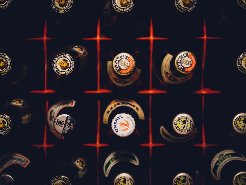 a case of beer