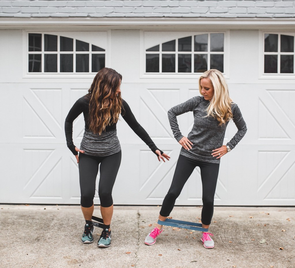 Merry New Year To All + A New Collab On Fitness And Food /Dallas Style Blogger/Dallas Wellness Blogger/Lululemon exercise gear/nike flyknit running shoes/perform better exercise bands/SPRI workout bands/