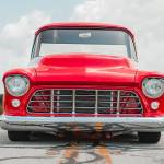 The Long Road Home 56 Chevy Apache Cover Truck Street Trucks
