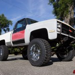 Square In The Air Lifting A 1987 Chevy Squarebody Street Trucks