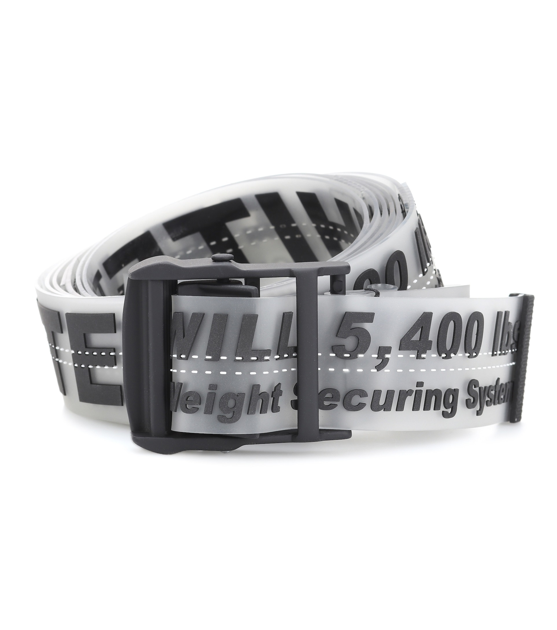 Off White Industrial Belt Yellow Strap Tape Automatic Buckle 200CM Hypebeast