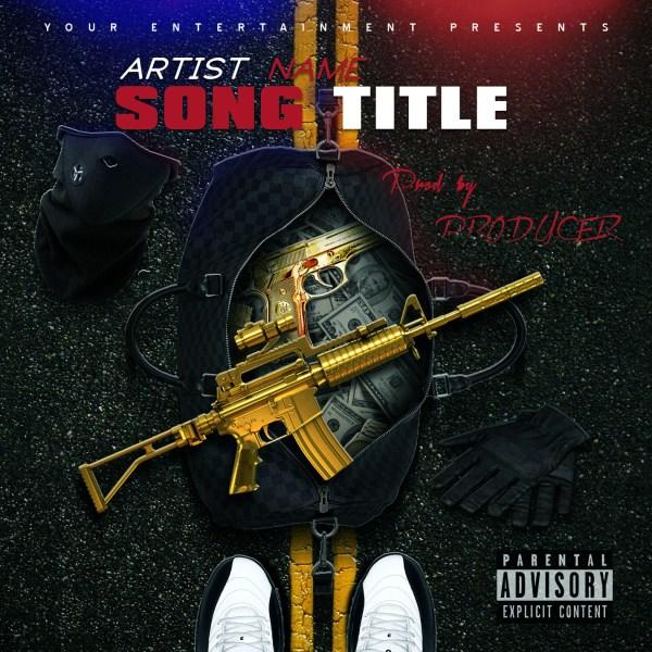 Mixtape Cover Template