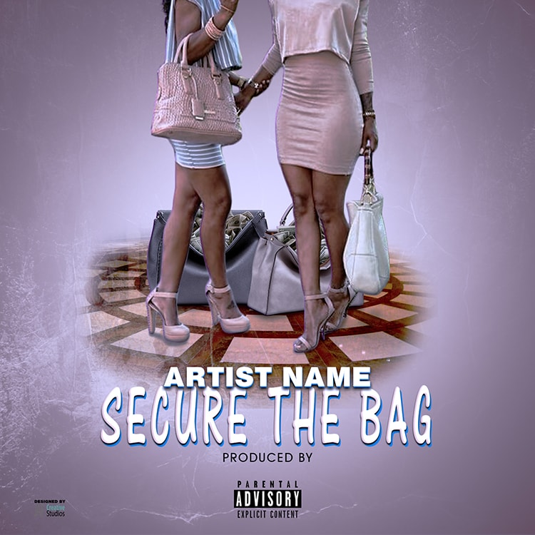 secure the bag single cover template streetz myestro beats