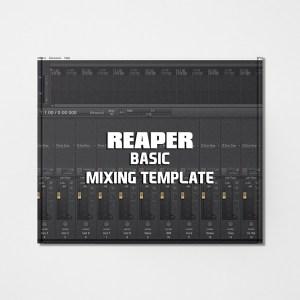Streetz Myestro - Reaper - Basic Beat Mixing Template