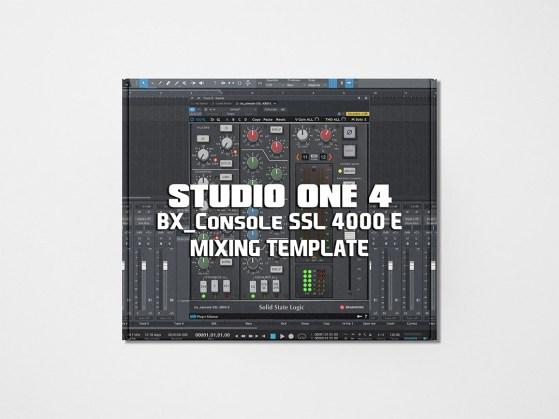 Streetz Myestro - Studio One 4 - BX_Console SSL 4000 E Mixing Template