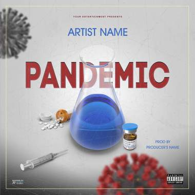 Pandemic 2 Single Cover Template