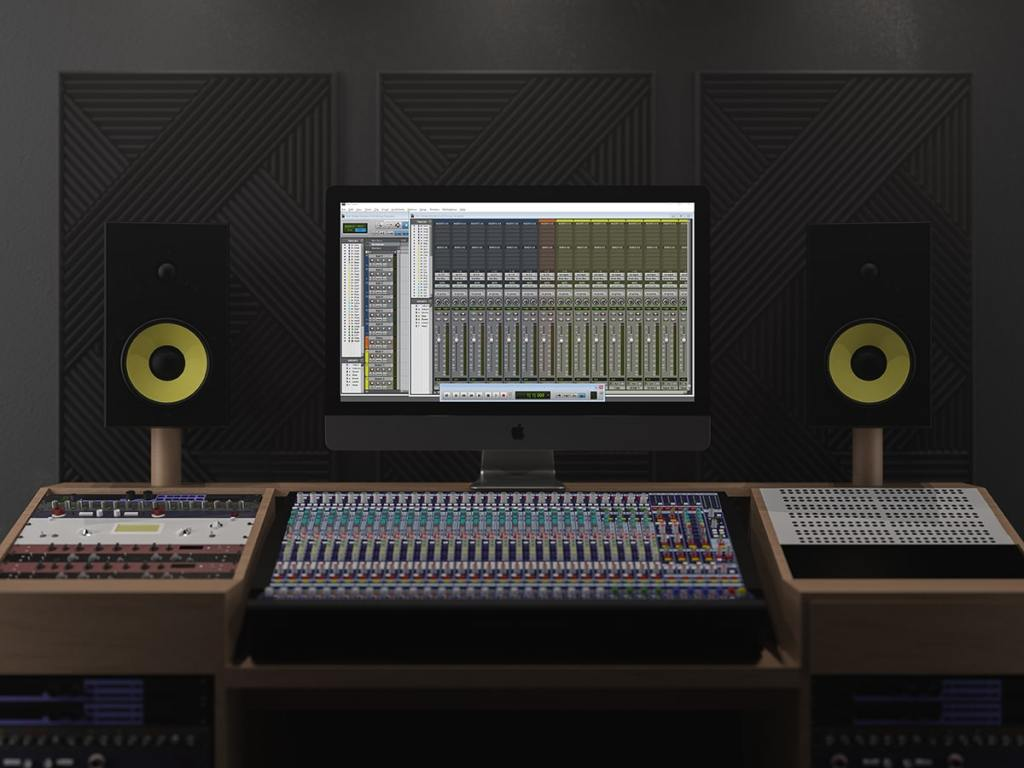 Pro Tools Mixing Template
