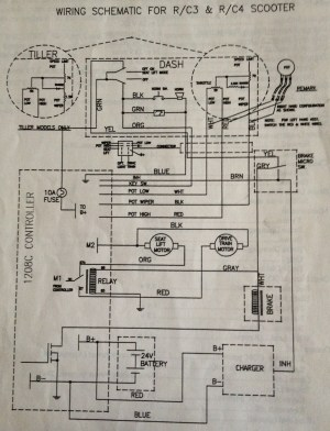 Pride Mobility Scooter Wiring Diagram  Wiring Diagram