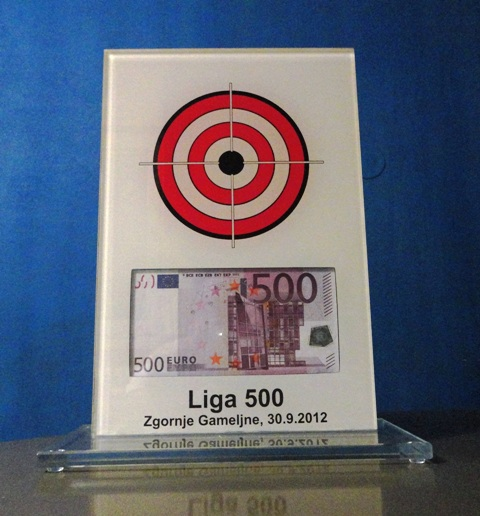 Liga 500 in 500 EUR nagrade