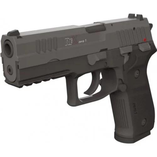 Pištole Rex Zero-1 tudi pri SloGun