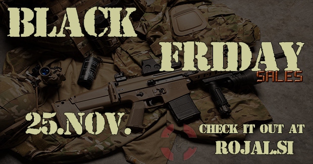 Črni petek pri Rojalu!