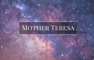 Mother Teresa & Service
