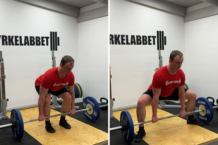 Deadlift conventional vs sumo starting position
