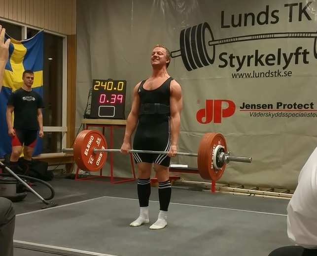 Deadlift lock out