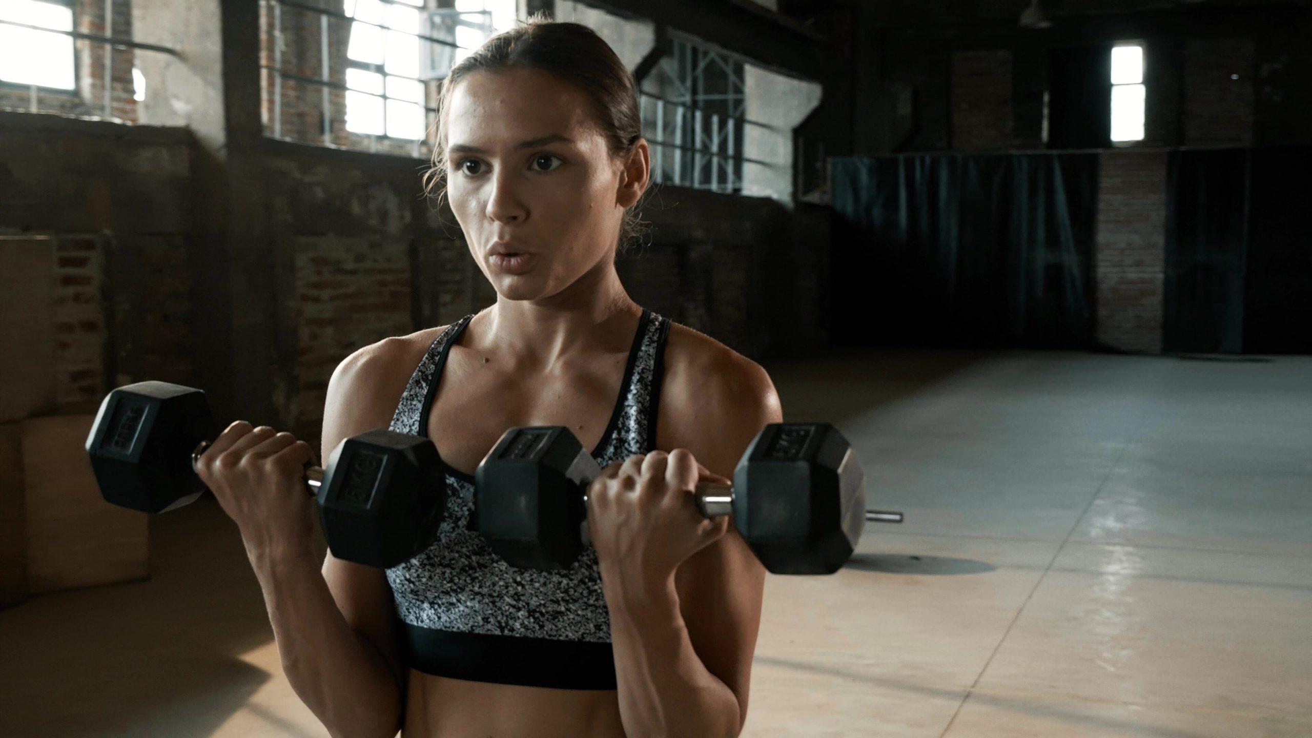Biceps training exercise