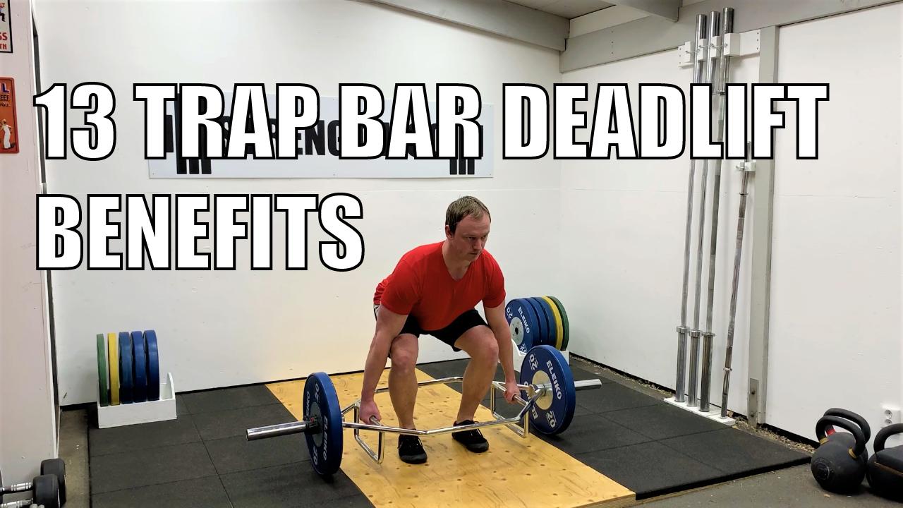 Trap bar deadlift benefits