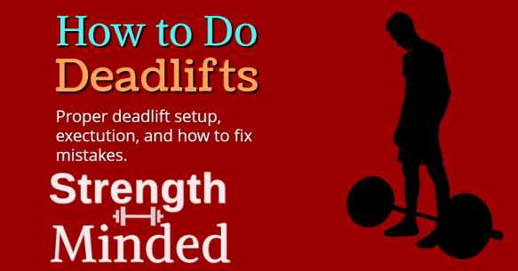 How to do deadlifts article