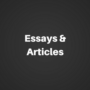 Essays and articles