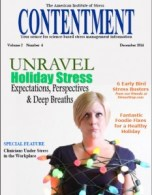 Dec 2014 Contentment Cover