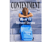 Fall 2018 Contentment magazine back to school stress