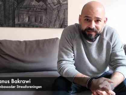 Janus Nabil Bakrawi ambassadør for Stressforeningen