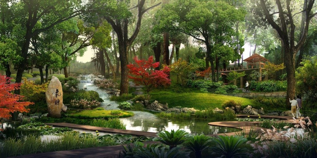 park, rendering, visualize the life you want