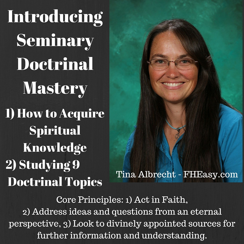free fheasy lesson seminary and doctrinal mastery scriptures
