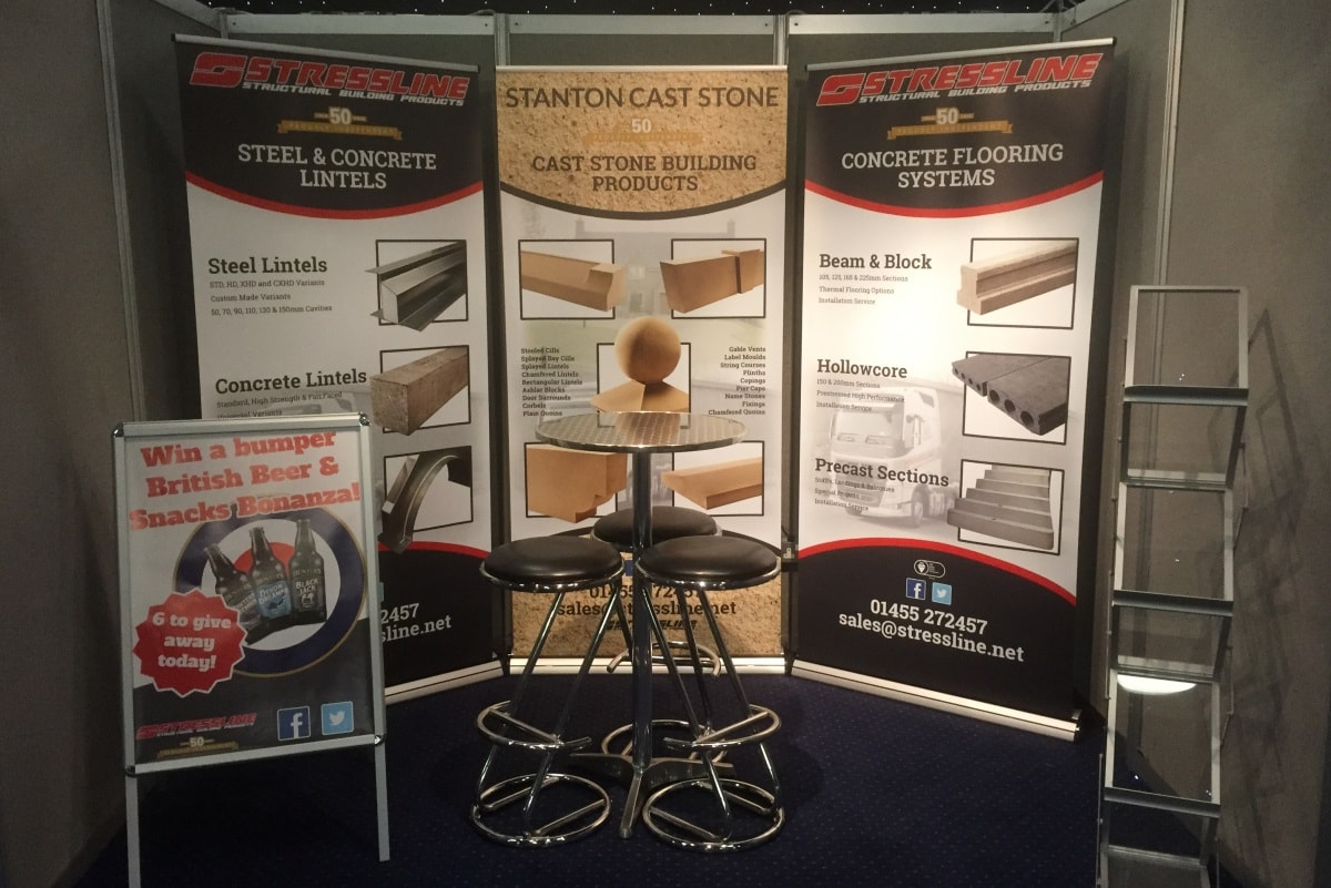 Stressline at Howarth Trade Show