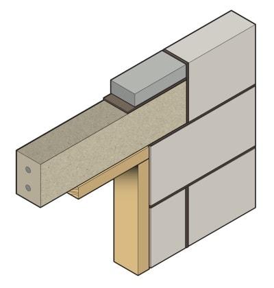 Stressline standard prestressed concrete lintel