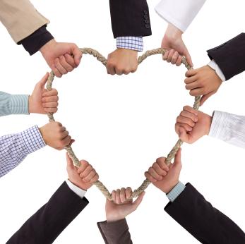 Organisations need hearts too