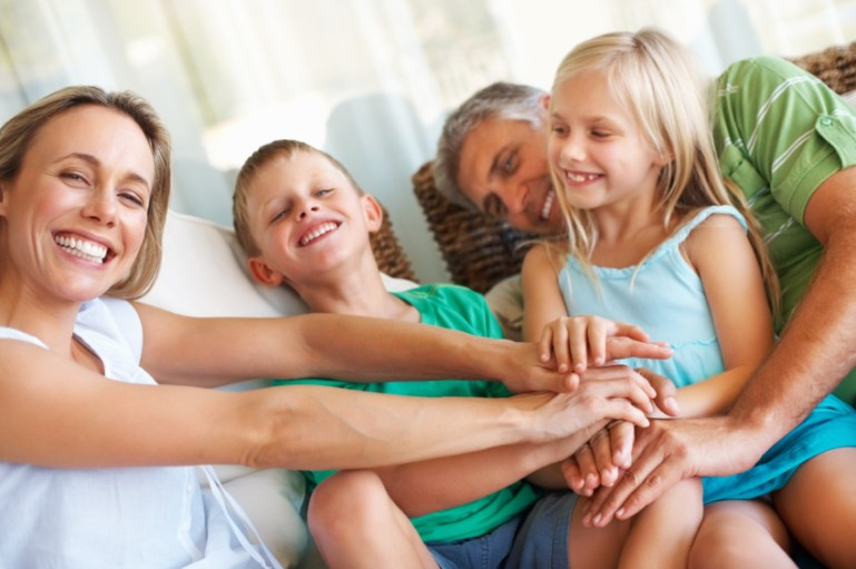 The security of family stability & structure as an example for business leadership