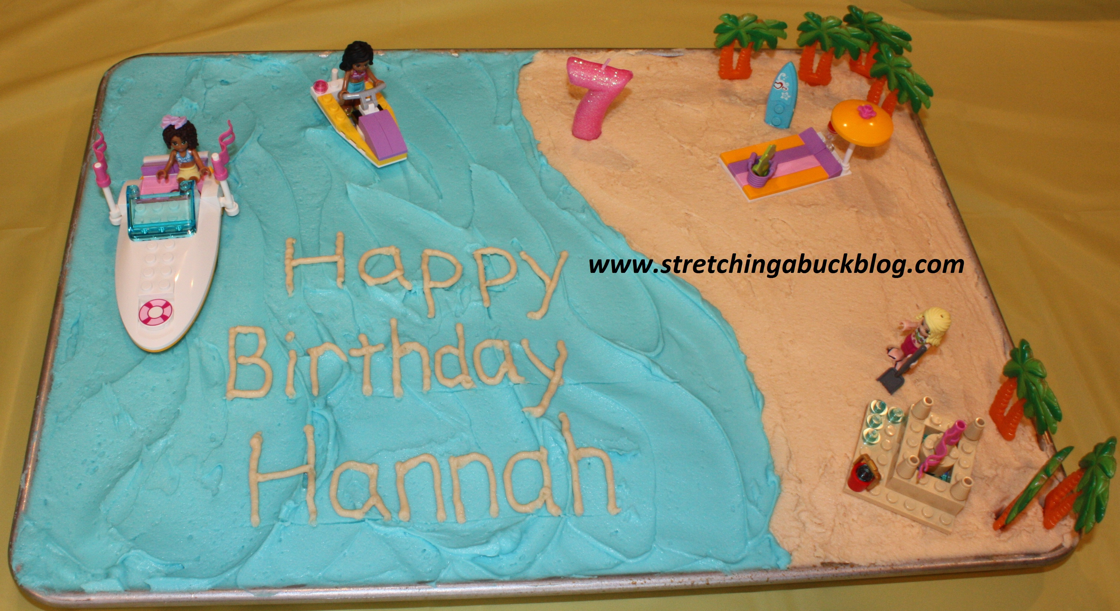 How To Make A Budget Beach Party Birthday Cake