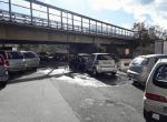 Reggio Calabria: perdita di acqua in via Rausei [FOTO]
