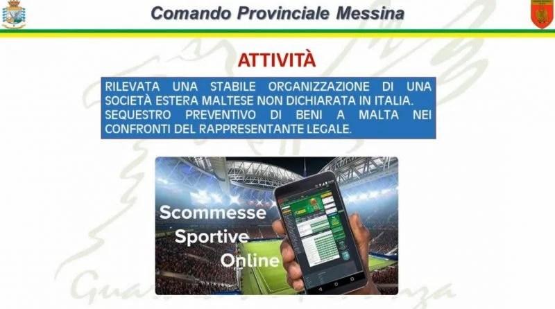 scommesse online messina