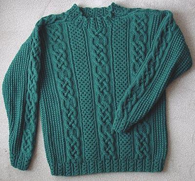 """""""St. Enda"""" aus """"Aran Knitting"""" von Alice Starmore"""