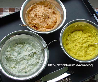 Quark-Variationen — curd cheese varieties