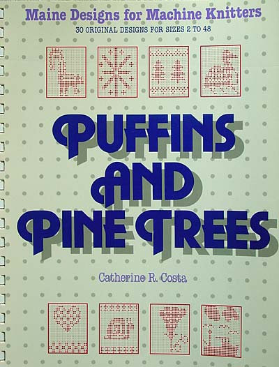 Catherine R. Costa, Puffins and Pine Trees