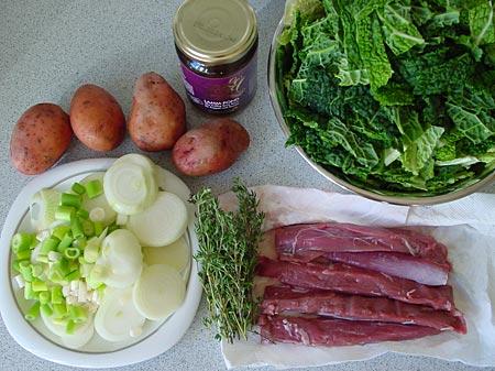 Irish Stew, Zutaten