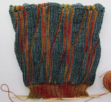 Swing-Reste-Mütze / Swinging oddment hat