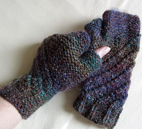 Vionette fingerlose Handschuhe