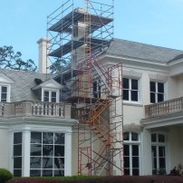 Frame Scaffold Stair Unit with Systems Scaffold, Switzerland, FL
