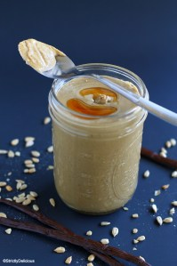 Maple Vanilla Sunflower Seed Butter | StrictlyDelicious.com