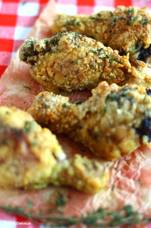 Amazingly Crispy Paleo Fried Chicken via StrictlyDelicious