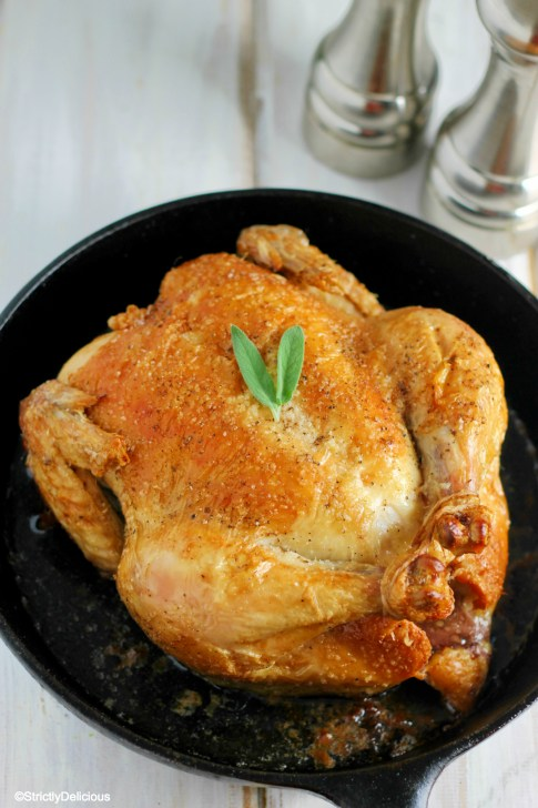 How to Roast a Chicken | StrictlyDelicious