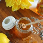 Lavender Lemon Infused Honey | StrictlyDelicious.com