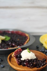 AIP Blueberry Lemon Pie | StrictlyDelicious.com