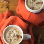 Spiced Vanilla Pumpkin Milk Steamer | StrictlyDelicious.com